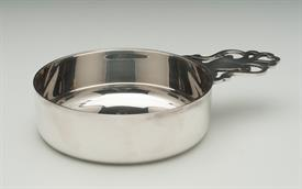 ",PORRINGER TIFFANY STERLING SILVER 7.65 TROY OUNCES 6.5"" LONG 4.5"" WIDE 1.35"" TALL 7.65 TROY OUNCES"