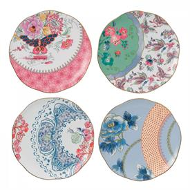 -SET OF 4 TIDBIT PLATES