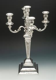 ,5 LIGHT CANDLEABRA STERLING 925., PROBABLY AN ITALIAN MAKER