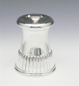 "PEPPER GRINDER TIFFANY SILVER PLATED 2.75"" TALL"