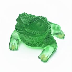 """_,TOAD 'GREGORIE' GREEN 3.03""""H X 4.13""""L X 4.33""""W STYLE 11811 ORIGINAL BOX"""