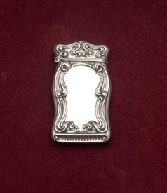 ART NOUVEAUX MATCH SAFE STERLING SILVER UNMARKED CONDITION IS A 5 OUT OF 10