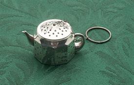 TEA POT STERLING SILVER TEA BALL AMCRAFT ATTLEBORO MASSACHUSETTS