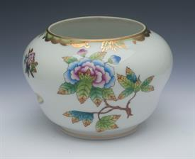 ",3.25"" TALL Bonbonniere IN THE QUEEN VICTORIA PATTERN. #6092. NO LID BUT CAN BE USED AS A SMALL VASE."