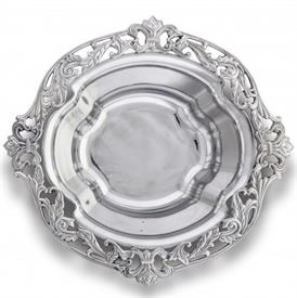 "-ACANTHUS SERVING BOWL. 17.25"" LONG, 16.5"" WIDE, 5"" DEEP"
