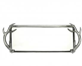 "-OBLONG TRAY. 19"" LONG, 8"" WIDE"