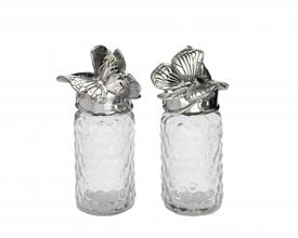 "-SALT & PEPPER SET. 5.75"" TALL, 2"" WIDE (EACH)."