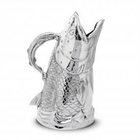 "-SALMON PITCHER. 12"" TALL, 6"" WIDE"