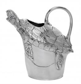 "-SEA TURTLE PITCHER. 10"" TALL, 6.5"" WIDE"