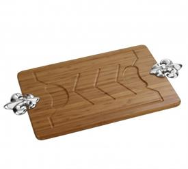"-CARVING BOARD. 25"" LONG, 13"" WIDE, 1.25"" TALL"