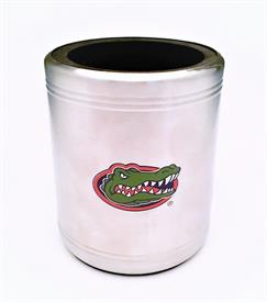 """_,PEWTER COOZIE. 3.5"""" WIDE, 4""""TALL. MSRP $25.00"""