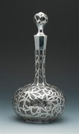 ",ALVIN RETICULATED STERLING SPIRIT DECANTUR 9.5"" TALL - BEAUTIFUL!"