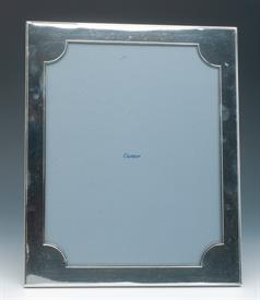 ,CARTIER 8X10 STERLING SILVER THICK SILVER FRAME CONTAIN 7 TROY OUNCES CONDITION AN 8 OUT OF 10 MINOR IMPERFECTION ON TOP LEFT CORNER ABOVE