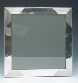 """,CARTIER 8X8"""" THICK STERLING SILVER PICTURE FRAME CONTAINS 6.65 TROY OUNCES CONDITION IS A 7 OUT OF 10"""