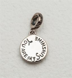 -,YOU ARE MY SUNSHINE STERLING SILVER.