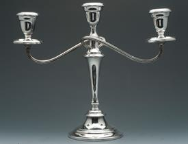 "PAIR OF GORHAM YC3030 CANDELABRAS 11.5"" TALL BY 14"" SPAN SILVER PLATED"