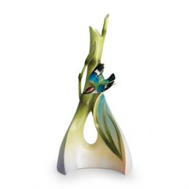 """-,TRIANGLE VASE. 12.2"""" TALL, 6"""" WIDE, 5"""" DEEP"""