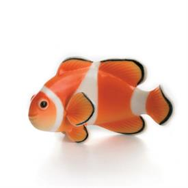 "-,CLOWN FISH FIGURINE. 1.8"" TALL, 2.8"" LONG"