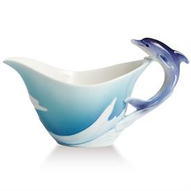 _,'DOLPHIN SPLASH' CREAMER. DESIGNED BY JIEH WEN. SCULPTED BY MING LEI.