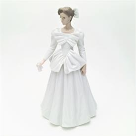",RARE 'THE NEXT DANCE' #02001201 WOMAN IN WHITE FIGURINE. SCULPTED BY FRANCISCO CATALA. PRODUCED IN 1995 ONLY. 11.2"" TALL"