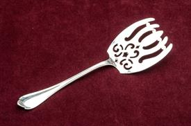 ",UNGER BROTHERS SPRINGFIELD STERLING SILVER ASPARAGUS SERVER 2.45 TROY OUNCES 8.75"" LONG"