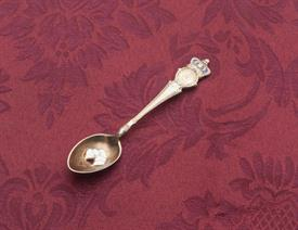 "ATLANTA SOUVENIR SPOON STERLING SILVER  4.25"" LONG"