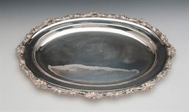 """,VERY PRETTY SILVER PLATED FOOTED BASKET WITH HINGED HANDLE 3.75"""" TALL AND 11"""" WIDE"""