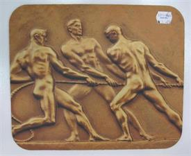 -BRONZE OLYMPIANS MOUSE PAD