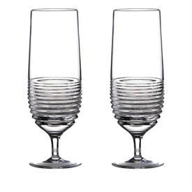 -SET OF 2 CIRCON HURRICANE GLASSES. 14 OZ. CAPACITY