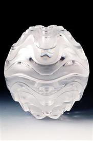 """,-VIBRATION BOX ,CAN ALSO BE USED AS SET OF 2 CLEAR BOWLS 4"""" ROUND 2 1/4"""" HIGH."""