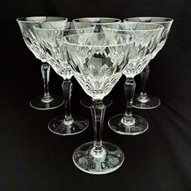 ",SET OF 6 JOSAIR 'EDITH' WATER GOBLETS. CA. 1964-1988. 7.25"" TALL"