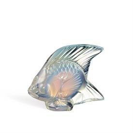 "-,FISH, OPALESCENT LUSTER. 1.77"" TALL, 2.09"" LONG, 1.14"" WIDE"