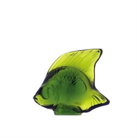 "-,FISH, LIME GREEN. H1.77""/L2.09""/W1.14"""