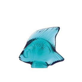 "-,FISH, PALE TURQUOISE. H1.77""/L2.09""/W1.14"""