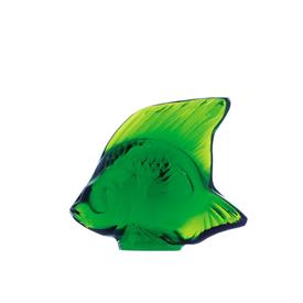 """-,FISH, GREEN MEADOW. H1.77""""/L2.09""""/W1.14"""""""