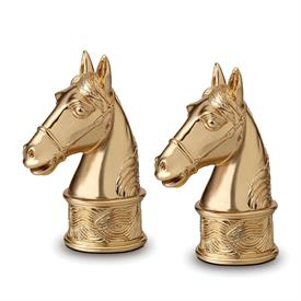 ,-SP3700 SALT AND PEPPER BRASS PLATED 24K GOLD PRESENTED IN GIFT BOX SET OF 2