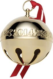_25TH SLEIGH BELL GOLD PLATED