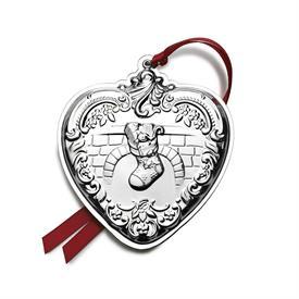 ,23RD HEART GRANDE BAROQUE STERLING SILVER