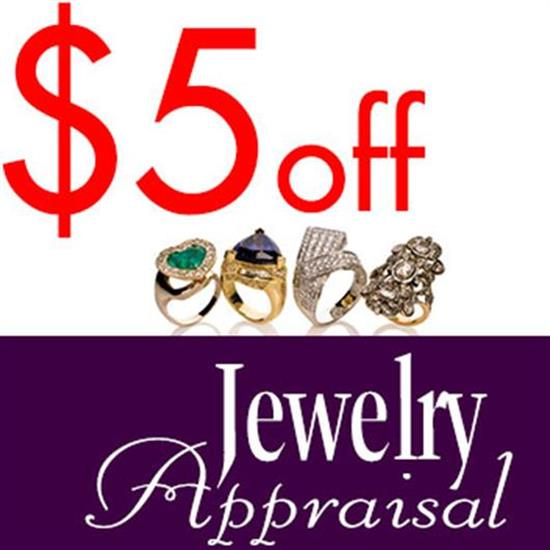 Miscellaneous TAKE $5 OFF YOUR WRITTEN APPRAISAL FOR INSURANCE PURPOSES FROM OUR APPRAISER SANDY