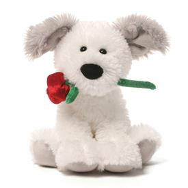 -,DEMARCO DOG WITH ROSE. 5""