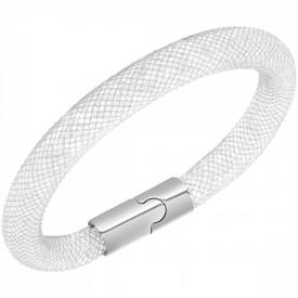 _5089839 Stardust braclet grey with crystal elements magnetic catch