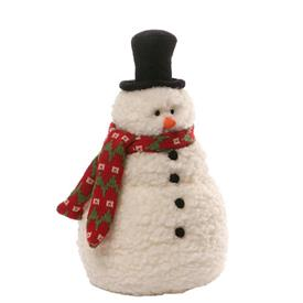 """-,BRRR SNOWMAN, SMALL. 12"""" TALL"""