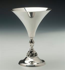 ",MARTINIS STERLING SILVER DESIGNED BY LA PAGLIA FOR INTERNATIONAL SILVER 5.3"" TALL 4.85 TROY OUNCES"