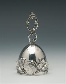 """,BELL STERLING SILVER MADE BY SHREVE 3.55 TROY OUNCES 4.25"""" TALL"""