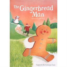 _GINGERBREAD MAN SOFT COVER BOOK. 29 PAGES