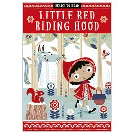 _LITTLE RED RIDING HOOD, READY TO READ BOOK, LEVEL 1
