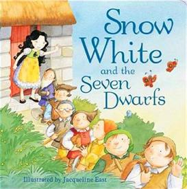 _Snow White & the Seven Dwarfs. Bard book, 10 pages.