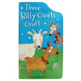 _Three Billy Goats Gruff. 20 pages. Softcover with laminated pages.