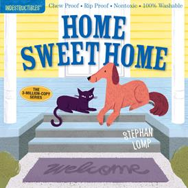 _'HOME SWEET HOME' INDESTRUCTIBLES BOOK