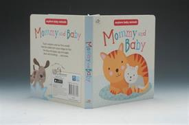 _MOMMY & BABY BOARD BOOK. 6 PAGES